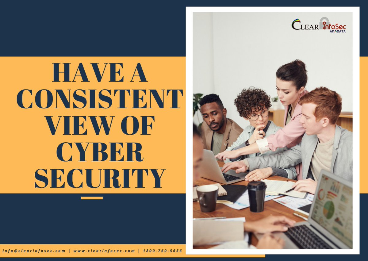 Paving the way for people and companies towards a secure digital world with #Cybersecurity #ClearInfosec®   📧Email👉info@clearinfosec.com 📞Call us 1800-760-5656 (Toll free) More Info Here👉 🌐   #networking #ransomware #innovation #coder #cybersecurity