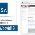 🔖 BOOKMARK THIS: Information about all of GSA's #COVID19 activities and resources in one place. 👇 https://t.co/G6NZg9Ygx0
