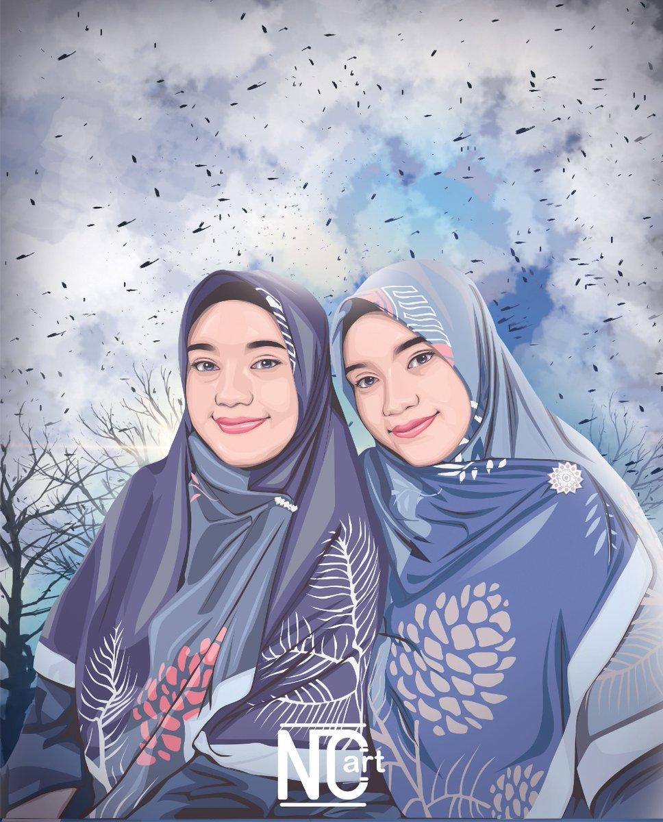 telimakaci suda ordeer #vector #vectorart #hijab #sister | BG by woii_designpic.twitter.com/Ns023vmuOM