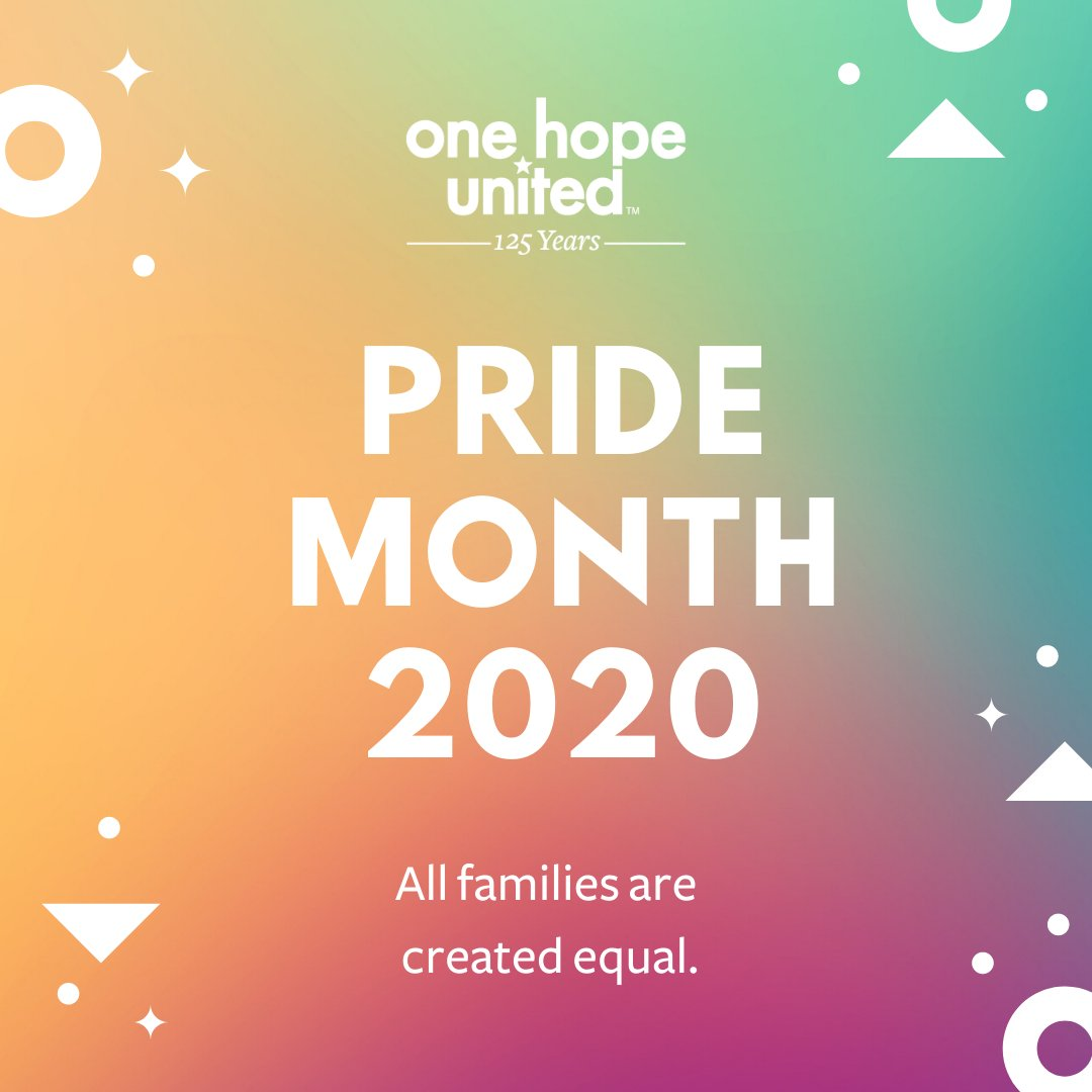 test Twitter Media - Happy #Pride2020 🏳️‍🌈  One Hope United recognizes, respects and celebrates the diversity of our staff and of the children and families we serve. https://t.co/QAw64SmeIJ