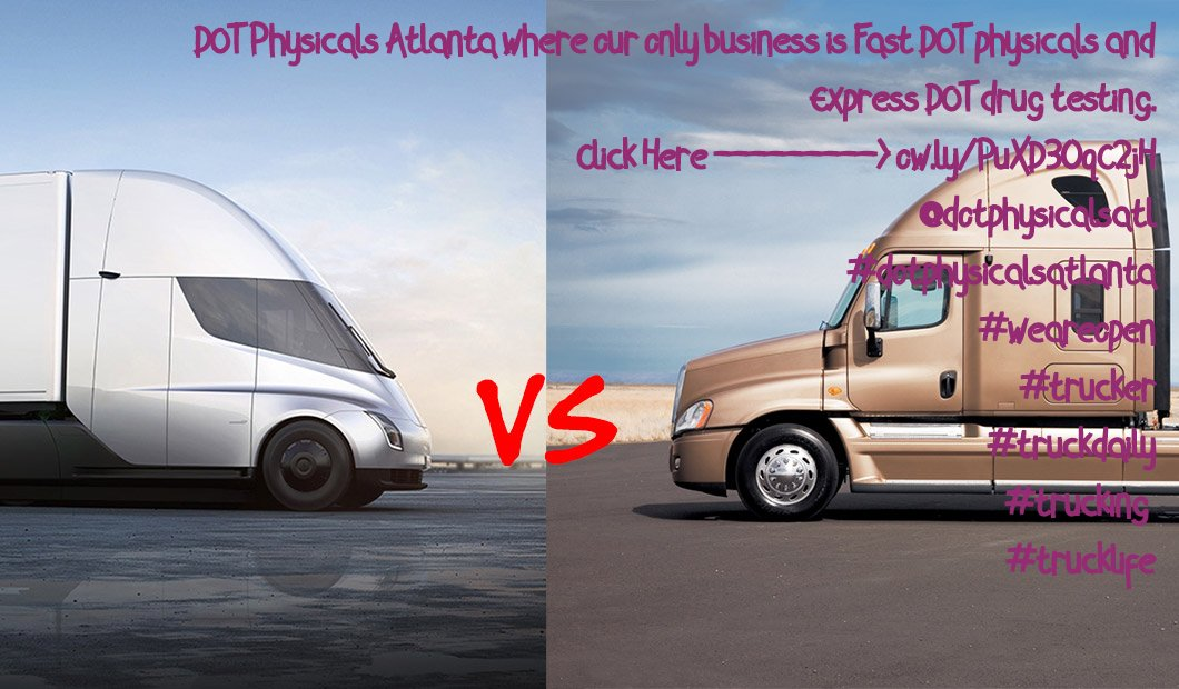 DOT Physicals Atlanta where our only business is Fast DOT physicals and Express DOT drug testing. Click Here ---------> http://ow.ly/PuXD30qC2jH @dotphysicalsatl #dotphysicalsatlanta #weareopen #trucker #truckdaily #trucking  #trucklife http://ow.ly/K5FF30qLke2pic.twitter.com/pNNNNF7Yv6