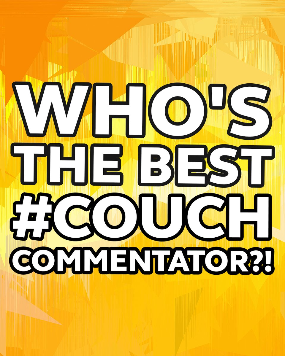 .@KT_Ten10 and @seanny202 have whittled down our #CouchCommentator contestants to four... now is when you come in 🍿 Vote for your favourite below 🗳