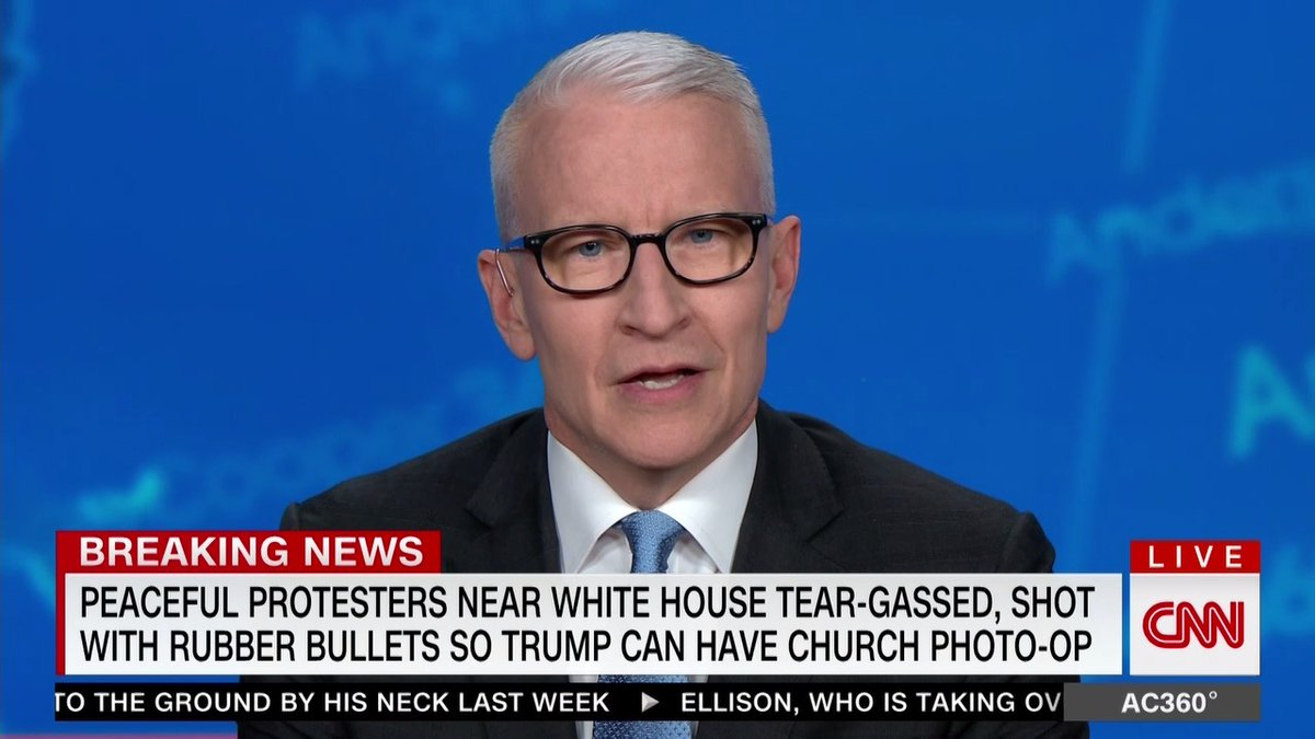 Again!!! This is why Donald Trump HATES CNN Anderson Cooper on it!!!