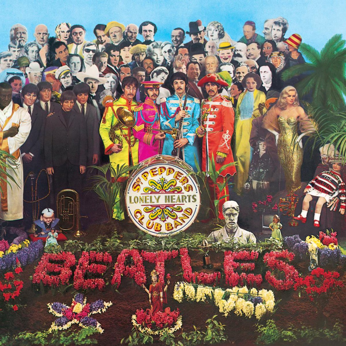 2 June 1967: The Beatles release their #album Sgt. Pepper's Lonely Hearts Club #Band in the United States. #TheBeatles #music #otd #rocknroll #history #ad https://amzn.to/2Mn7coB pic.twitter.com/TXnjtIDIP0