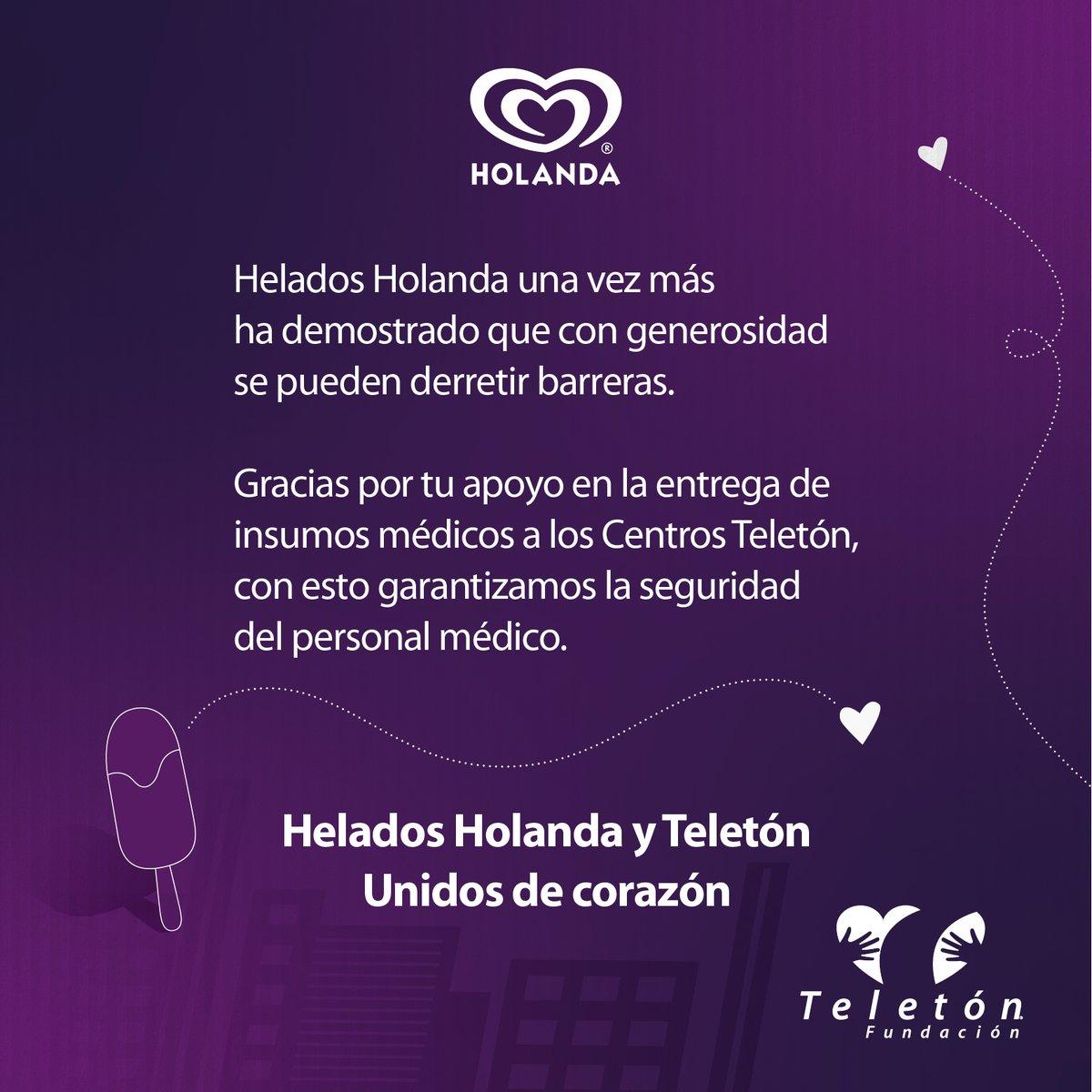 Gracias, @Helados_Holanda, ¡gracias de corazón! 🍦😋  #NosMueveMéxico https://t.co/aEk89OD0lC
