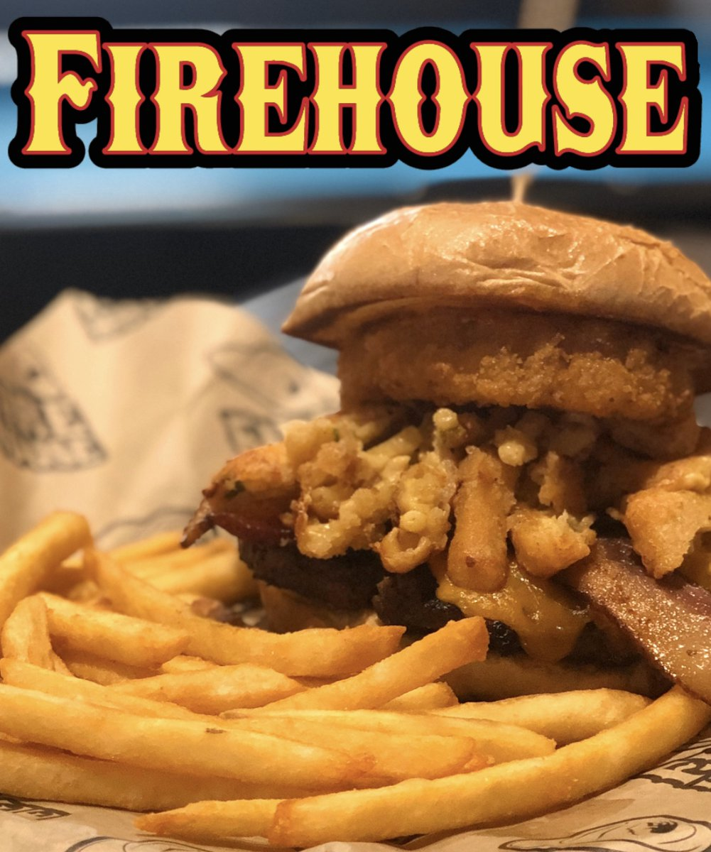 Starting today, all of our burgers will be $10 on Mondays! Try some of our new specialty burgers or stick to your favorites. Stop by and order one today. #firehouse #bakersfield #burger #firehouseeats #burgermonday #bakersfieldeats #burgerspic.twitter.com/HzimbwhEiK