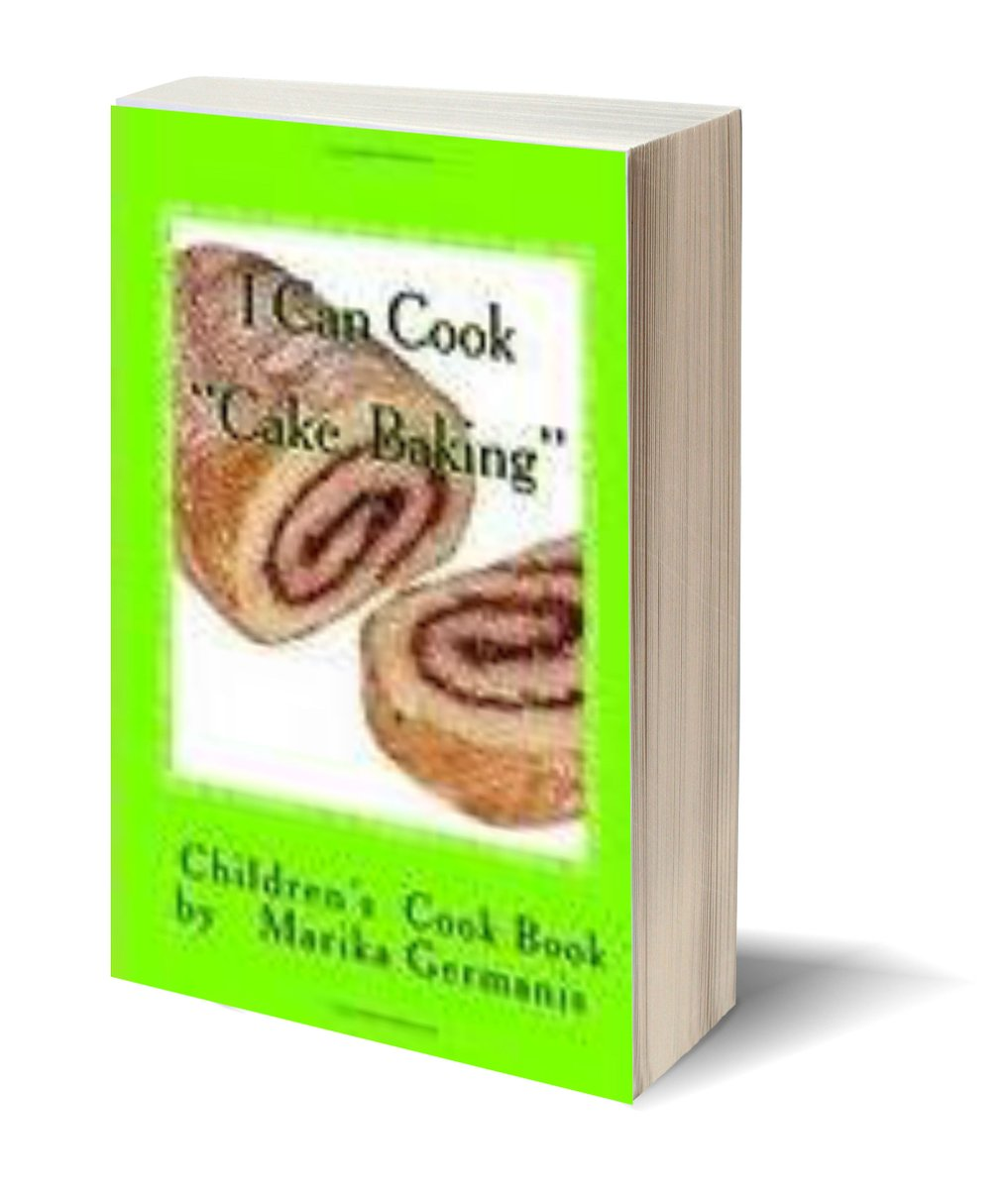 """A children's bake book with simple step by step instructions. ★I CAN COOK: CAKE BAKING★  """"@sapphiregypsy  🦉   #ASMSG #cakes   ✎via Pizzazz Book Promotions"""