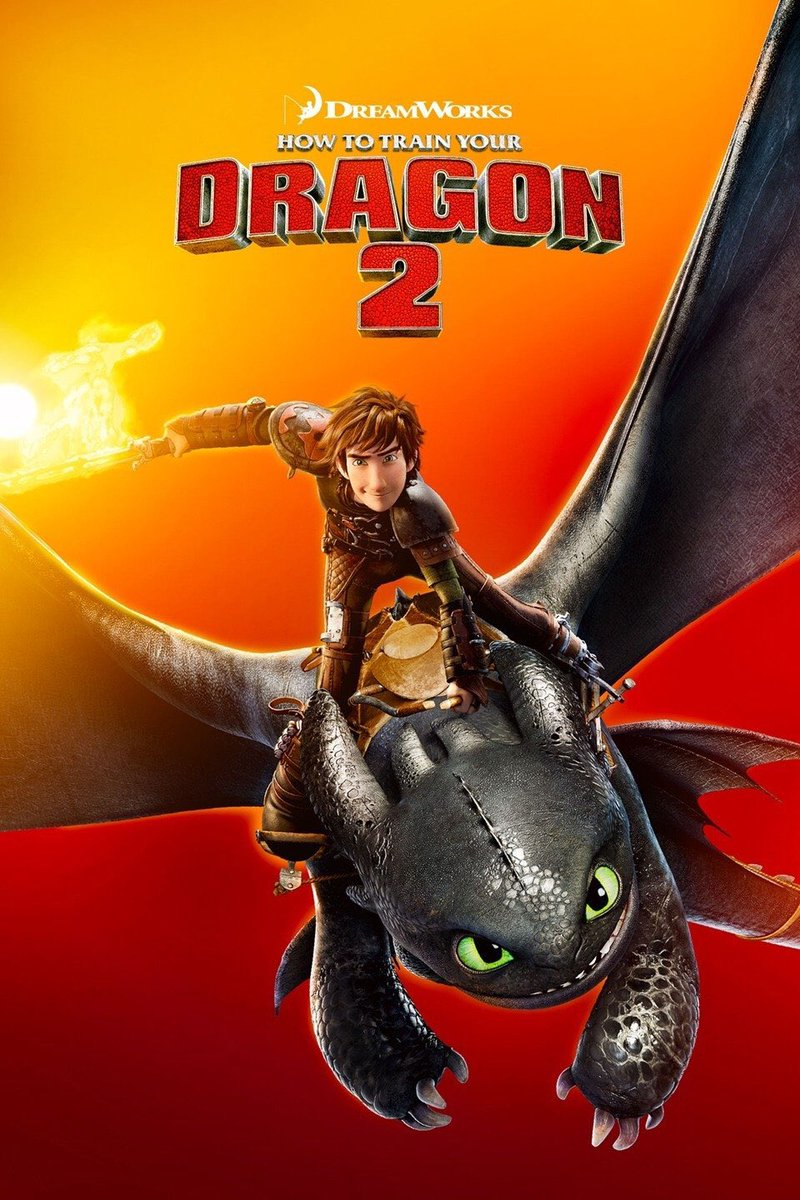 #HowToTrainYourDragon2 #MovieReview: 9.5/10  Pros:  •Builds perfectly from the first  •Hiccup and Toothless are deeper characters  •Awesome new and old characters  •Emotionally resonant  •Menacing villain  •Perfect action sequences  Cons:  •Pacing isn't perfect pic.twitter.com/CPcuwBHVo8