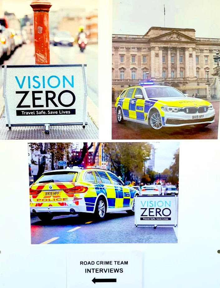 Long day interviewing PCs for #RoadCrimeTeam recruitment - so many outstanding candidates with superb #VisionZeroLDN knowledge & passion for proactive policing. Lots using #Twitter to follow @SuptAndyCox & @MPSRTPC to stay informed on Roads Policing in London