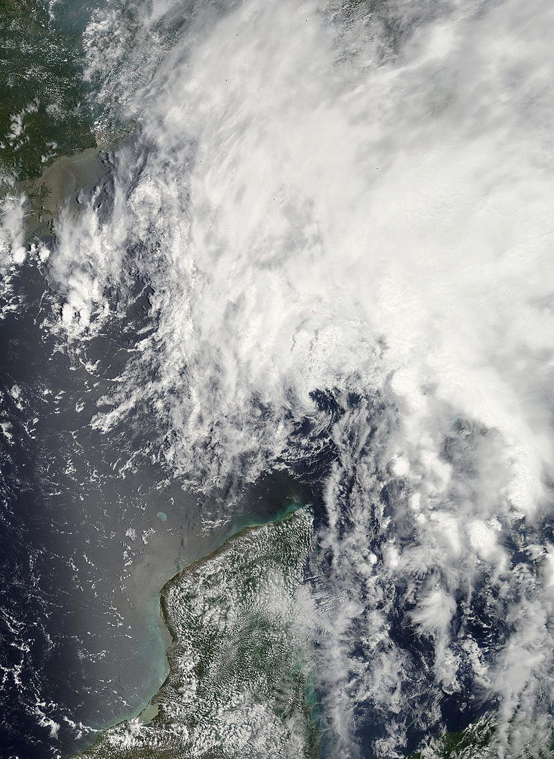 The most recent Atlantic system to be first named on June 1st - the official start of the #hurricane season - was Tropical Storm Barry in 2007. <br>http://pic.twitter.com/5bp8JqWpLb