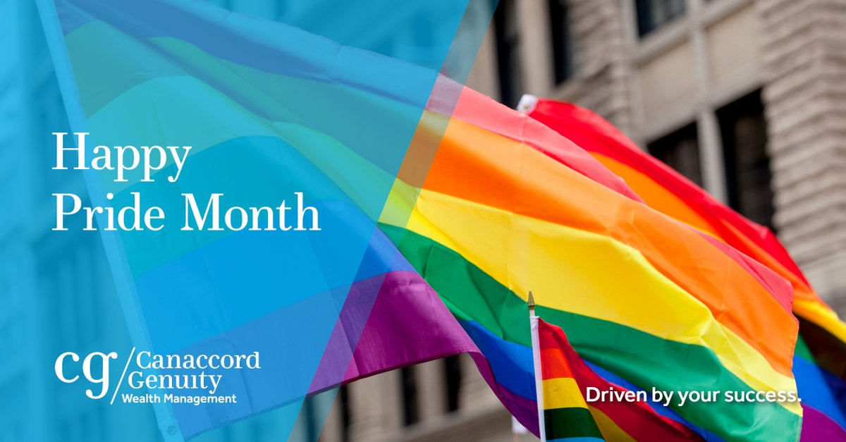 Fostering individuality and providing an inclusive environment for our employees and clients remains a key priority across Canaccord Genuity Wealth Management. Today, and every day, we stand with our LGBTQ+ community members. #PrideMonth2020 https://t.co/jV576JvniM