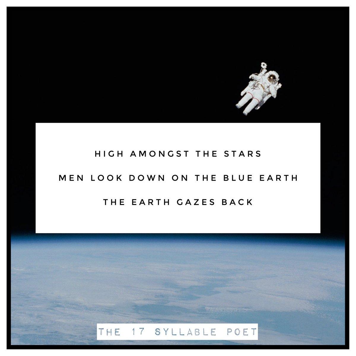 Haiku #153 * Daily Haikus by The 17 Syllable Poet * #the17syllablepoet #SpaceX #space #haiku #haikupoem #haikusoftwitter #haikuaday #dailyhaiku #dailypoems #poetry #poems #poem #17syllables #writersoftwitter #poetsoftwitter #writing #poetryporn #poetrycommunity #haikucommunity