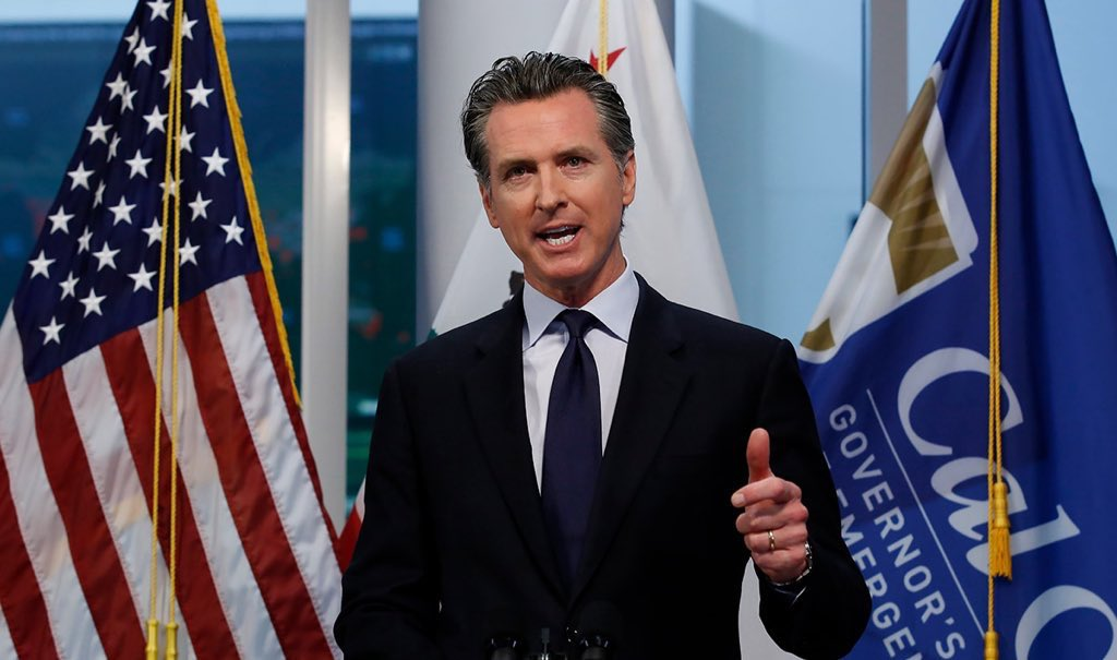 @RealJamesWoods #BREAKING Governor Newsom declares 6 foot social distancing will now only apply to Californians with no criminal record https://t.co/qEOUkjBCFo