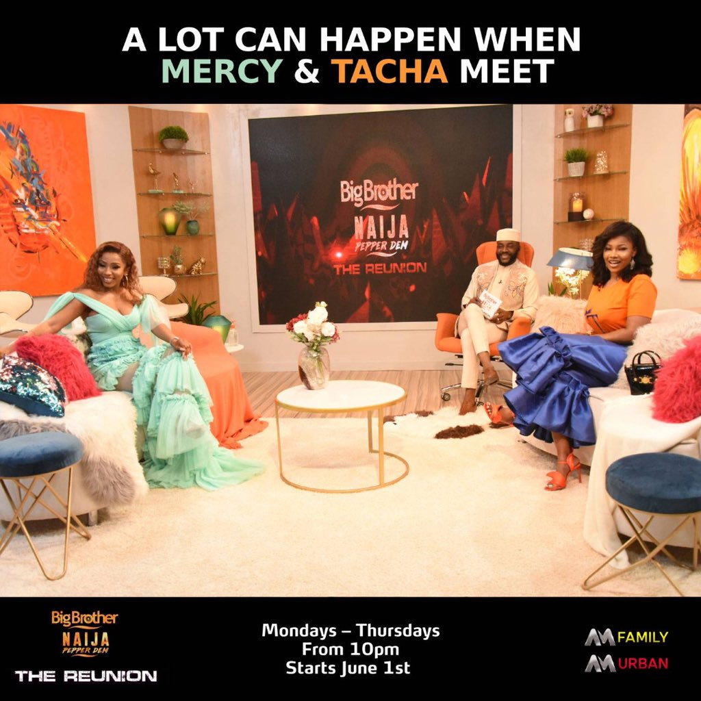All we're saying is... Y'all ready... okay steady... now drama! #BBNaijaReunion #BbnaijaPepperdemReunion IT'S GO TIME 🚨🔥