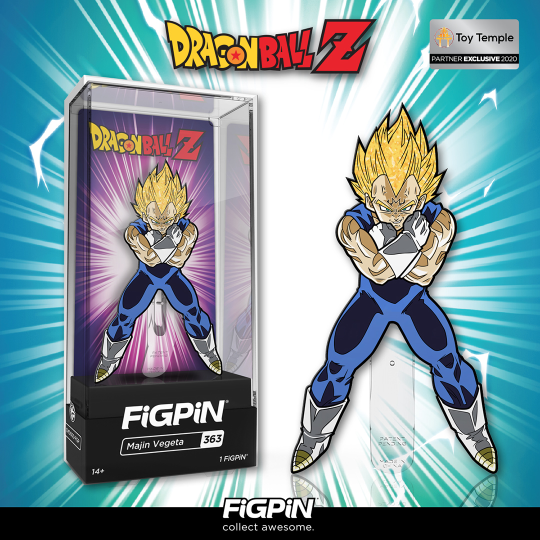 Dragon Ball Z's Majin Vegeta with glitter hair is a Toy Temple exclusive and will be available for purchase at 5pm PT, today!   https://www. thetoytemple.com/collections/to p-line-front-page/products/figpin-majin-vegeta-363-glitter-hair-3-collector-pin-toy-temple-exclusive   … <br>http://pic.twitter.com/7jJaO6tpMg