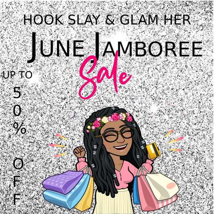 May Madness is over and so begins our June Jamboree Sale. Up to 50% off select items! Items are being added as I type, so visit often!   Link to sale:   #SupportBlackBusinesses #supportsmallbusiness #fashion #BuyBlack #shopsmall #BlackTwitter