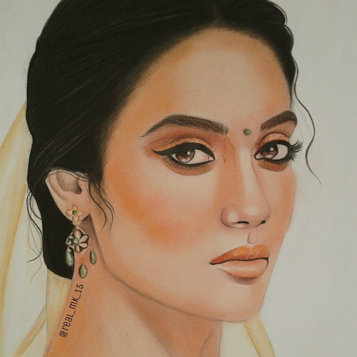 My #painting of #SurbhiJyotipic.twitter.com/6QMrlOiEY7