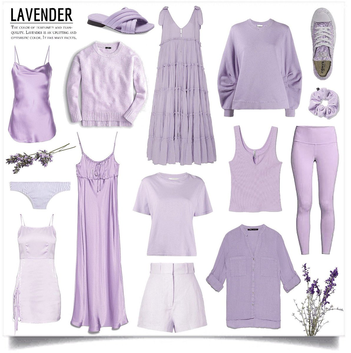 Lavender • #ootd #fashionista #stylegram #stylist #todaysoutfit #lookbook #lookoftheday #beautyblogger #fashionblogger #styleblogger #outfitideas #outfits #influencer #outfitoftheday #newcontent #shoplookio #thestyledstories #vsco #lavender #summer #summeroutfit #softgirl