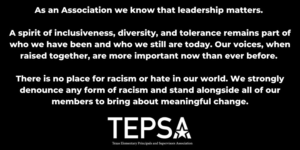Given recent events, below is an official statement from TEPSA.