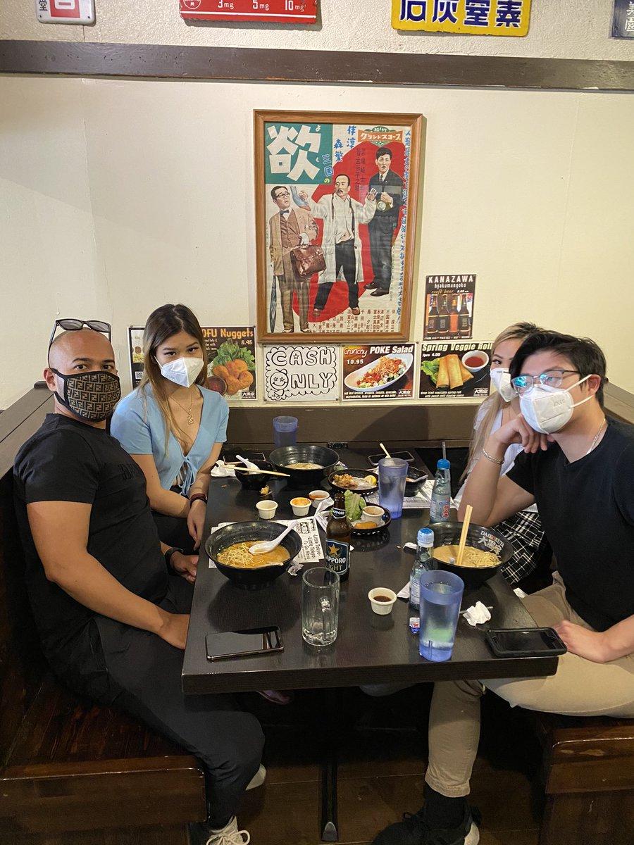 First customers to dine in after Covid 19 lockdown ! 🥳Daikokuya Little Tokyo Dine in open from Today. Let's eat Ramen🍜 #daikokuya #ramen #daikokuyaramen #gyoza #littletokyo #japantown #losangeles #la #dtla #asianfood #japaneserestaurant #japanesefood #restaurant #lafoodie #food