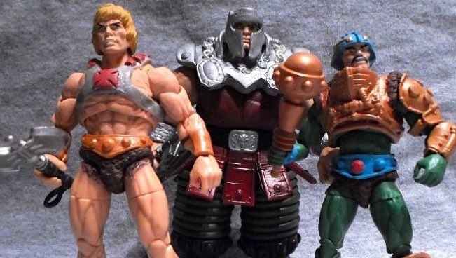 """#MastersoftheUniverse  Custom 4"""" Scale action figures.......   by UnknownSoldier13 https://t.co/eaTnkIGtS5"""