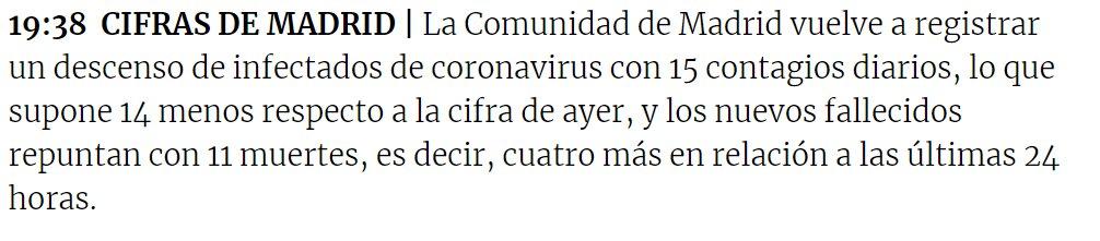 @RTSinfo @RadioTeleSuisse  11 décès aujourd'hui en #Espagne. Source: @okdiario  #Covid_19 #COVID #coronavirus https://t.co/K0SHcoG2x6