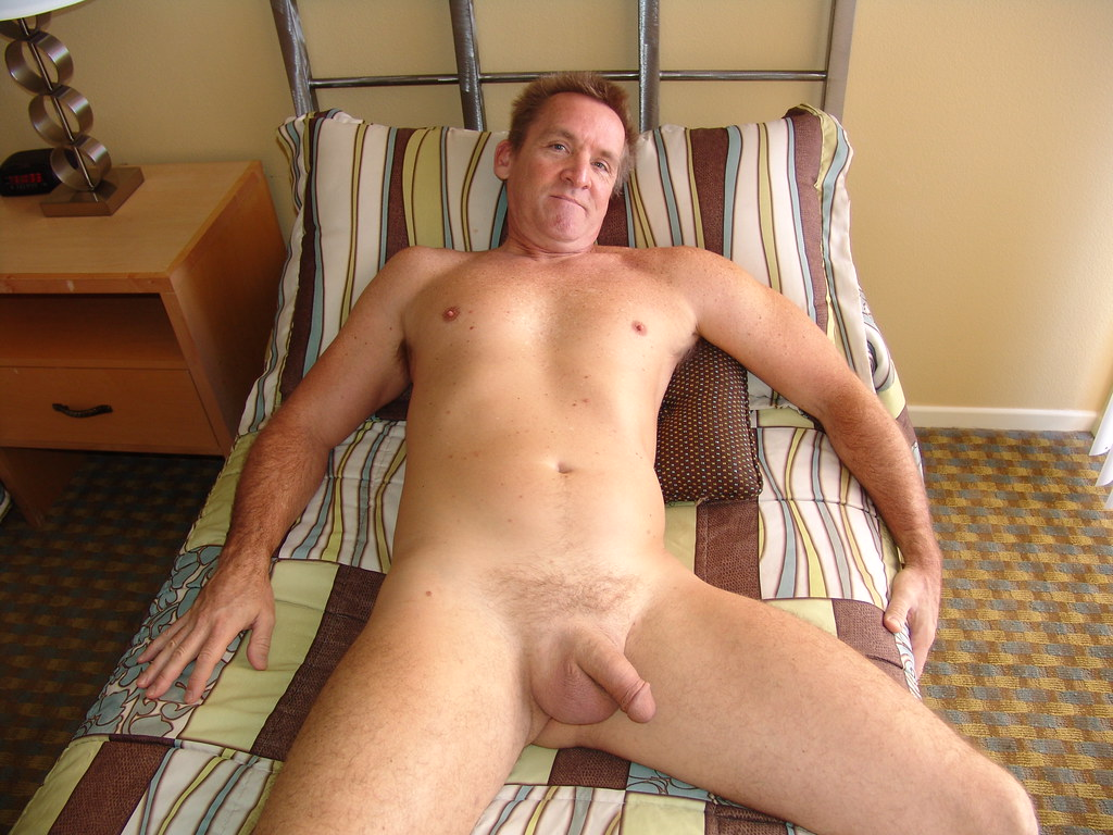 Gray daddy paul barbaro naked by hot older male