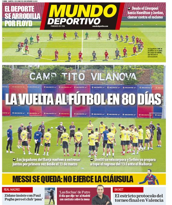 📰 [MD] | The Return To Football After 80 Days