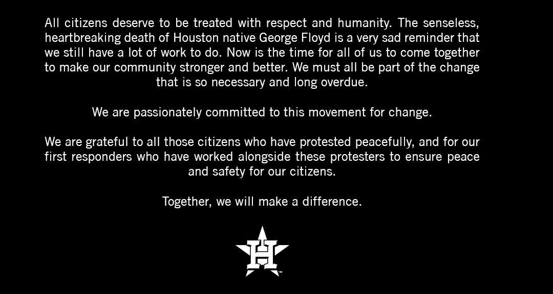 Houston Astros (@astros) on Twitter photo 01/06/2020 22:03:11