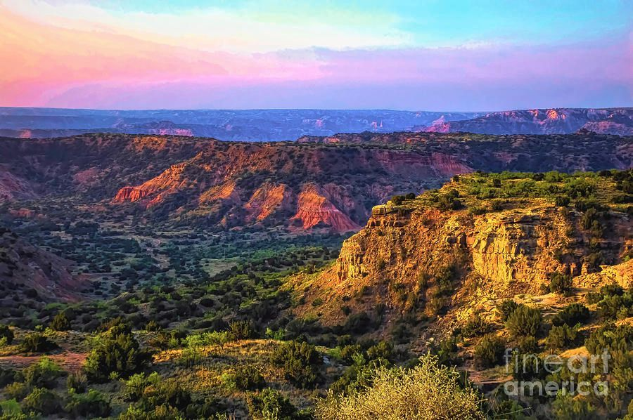 Morning Sun #PaoloDuro #Canyon #Texas #Landscape #Photography #Sunrise #DianaMarySharpton @FineArtAmerica