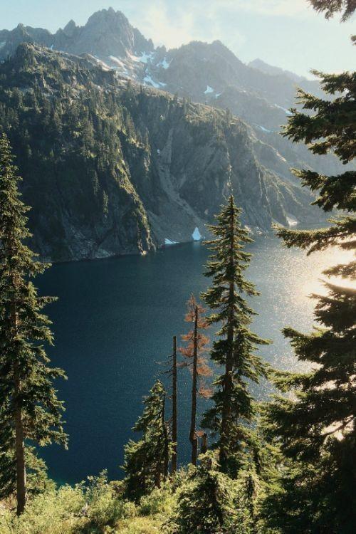 Duuuuuuuuude #nature #mountains #lake #trees 🏞️