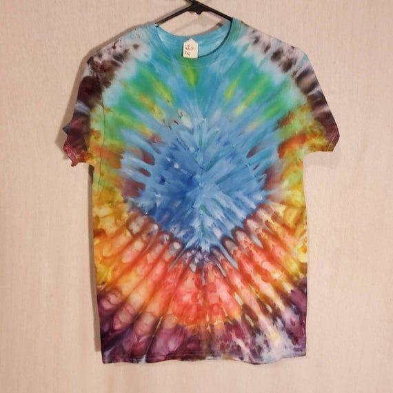 FOR SALE  #tiedye #handdyed #colors #rainbow #hippy #heady #boho #dyedfabric #dye #lilacharlequinstudio #makearteveryday #etsy #artforsale #jewelryforsale #handmade #Coloradoartist #elementalart #inspiredbynature