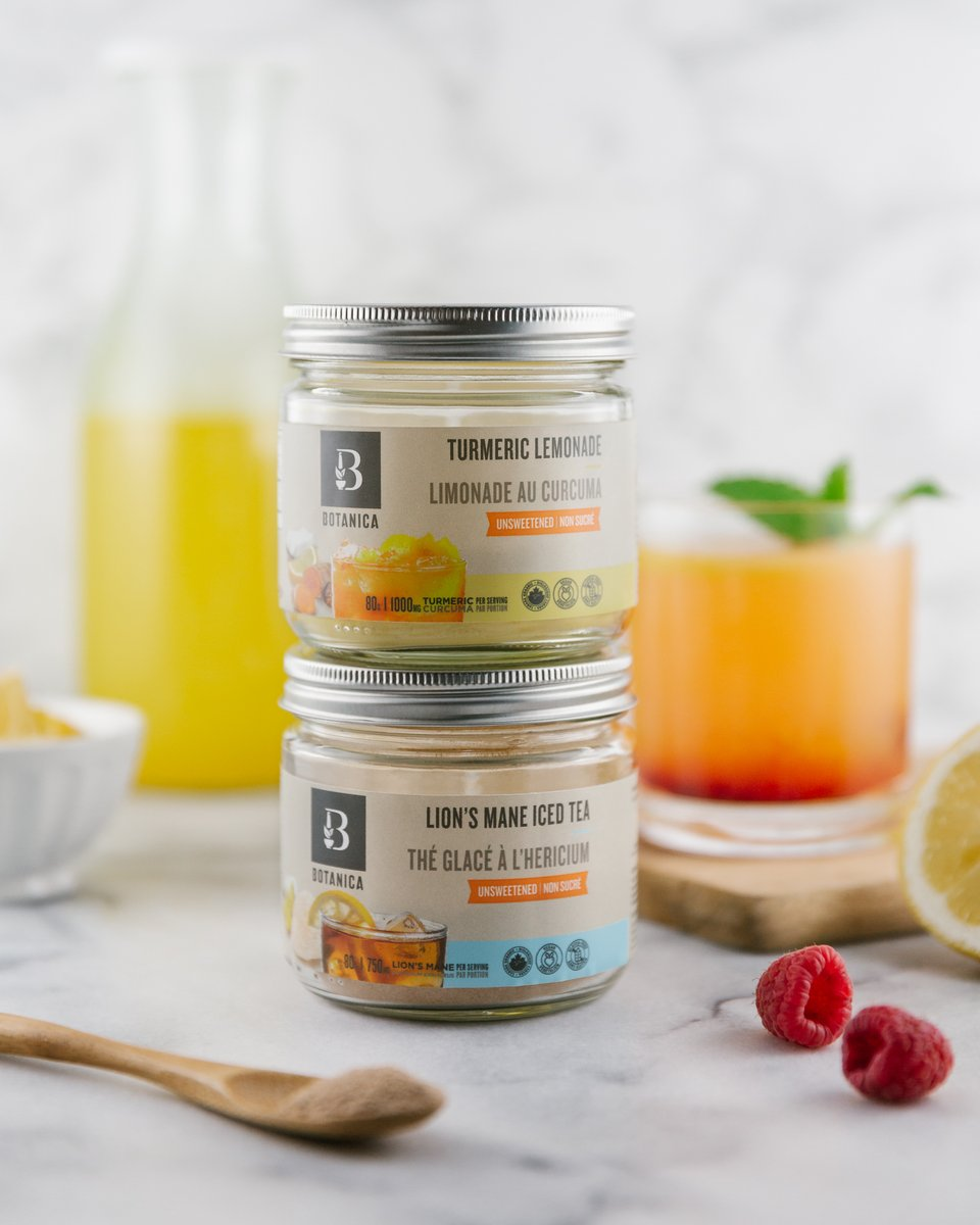 SUMMER GIVEAWAY ALERT!  To celebrate the launch of our NEW Unsweetened Superfood Beverages, we're giving you the chance to win  our Turmeric Lemonade & Lion's Mane Iced Tea! To enter:   ✔️ Follow us  ✔️ Like this post ✔️ Tag TWO friends Giveaway closes on June 30th https://t.co/4purZmQIW4