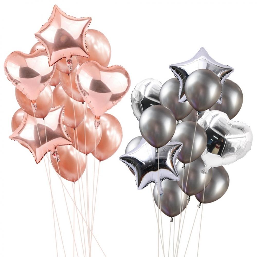 #happy #streetstyle #moda Birthday Party Balloons 14 pcs/Set