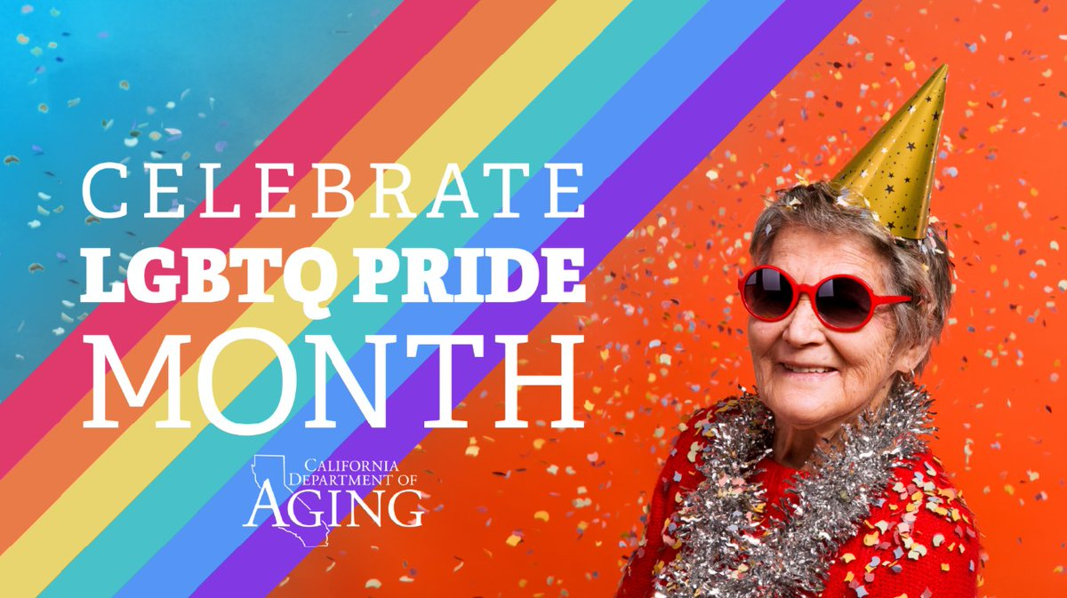 June is #LGBTQ Pride Month! Throughout the month we will be sharing resources for older LGBTQ adults to stay connected and safe while we stay home. What's your favorite resource?  #PRIDE2020pic.twitter.com/EEyjG32mMh