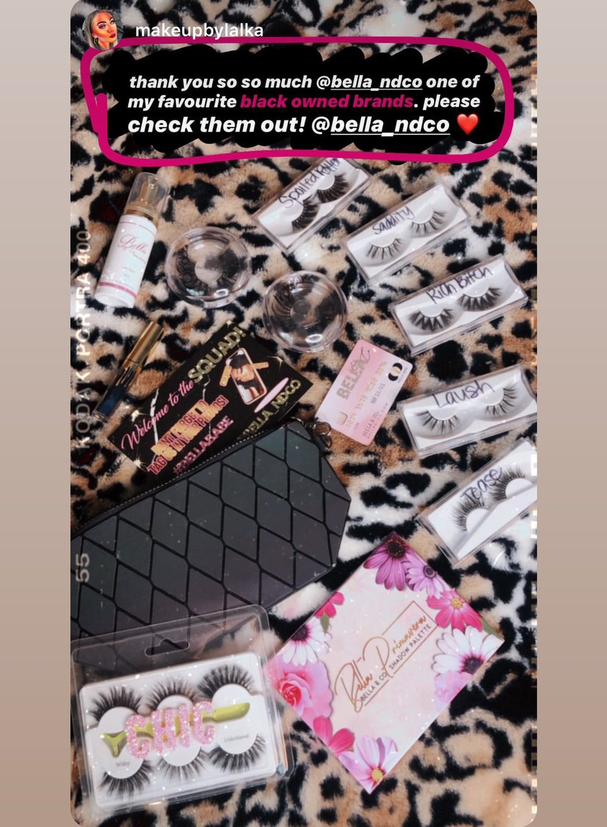 All #BellaAndCo products 😍