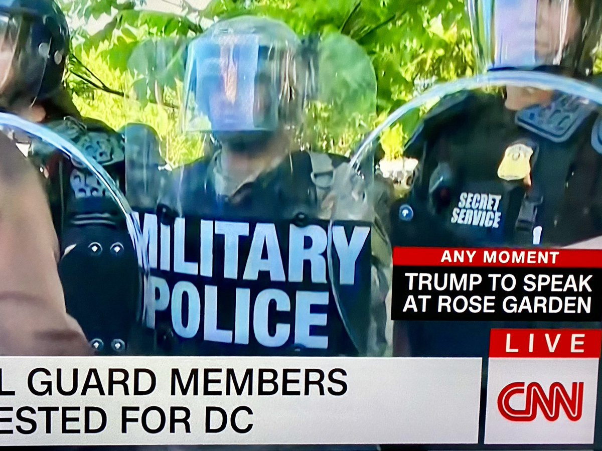 'Secret Service' smaller than 'Military Police' because it's a secret https://t.co/mOR2sXR685