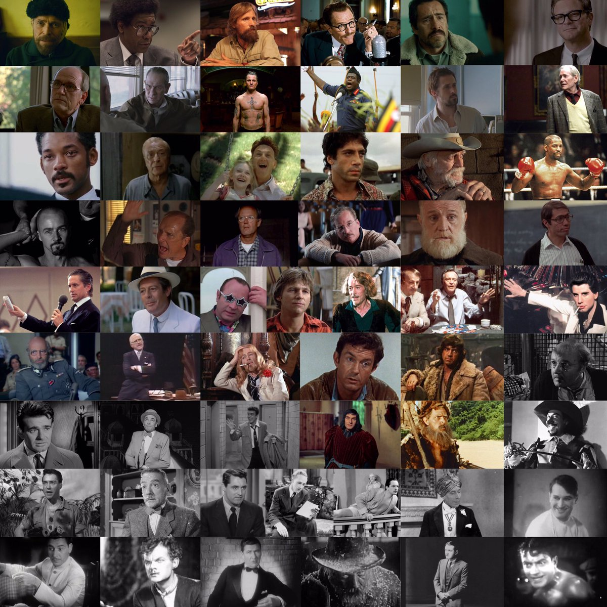 #FilmTwitter #Oscars Had a lot of time on my hands and made up these lists of every instance of an actor or actress being a film's lone Oscar nomination pic.twitter.com/9o2KT9V129