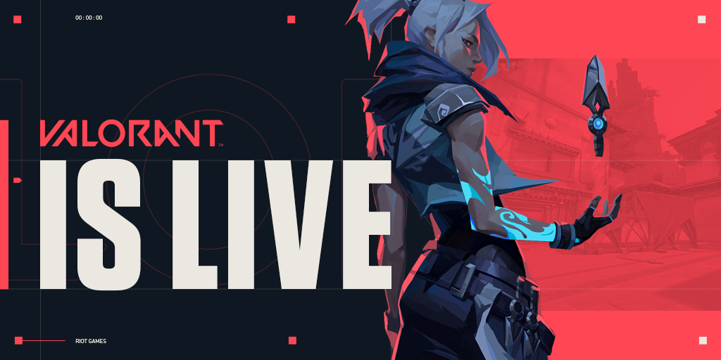 VALORANT is LIVE in KR, Asia-Pacific, and OCE.