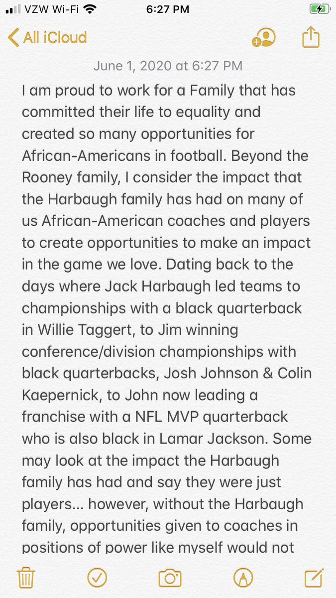 In challenging times of racial inequality and injustice I am even more thankful for the Harbaugh Family! TY ✊🏽✊🏻✊🏾✊🏿 https://t.co/RV4bBOEmPl