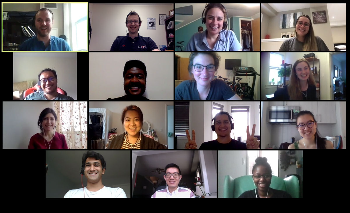 Last week the @WEAOntario Young Professional Committee members met for the first of many video calls. So great to see everyone and hear plans for 2020 activities! #wastewater #water