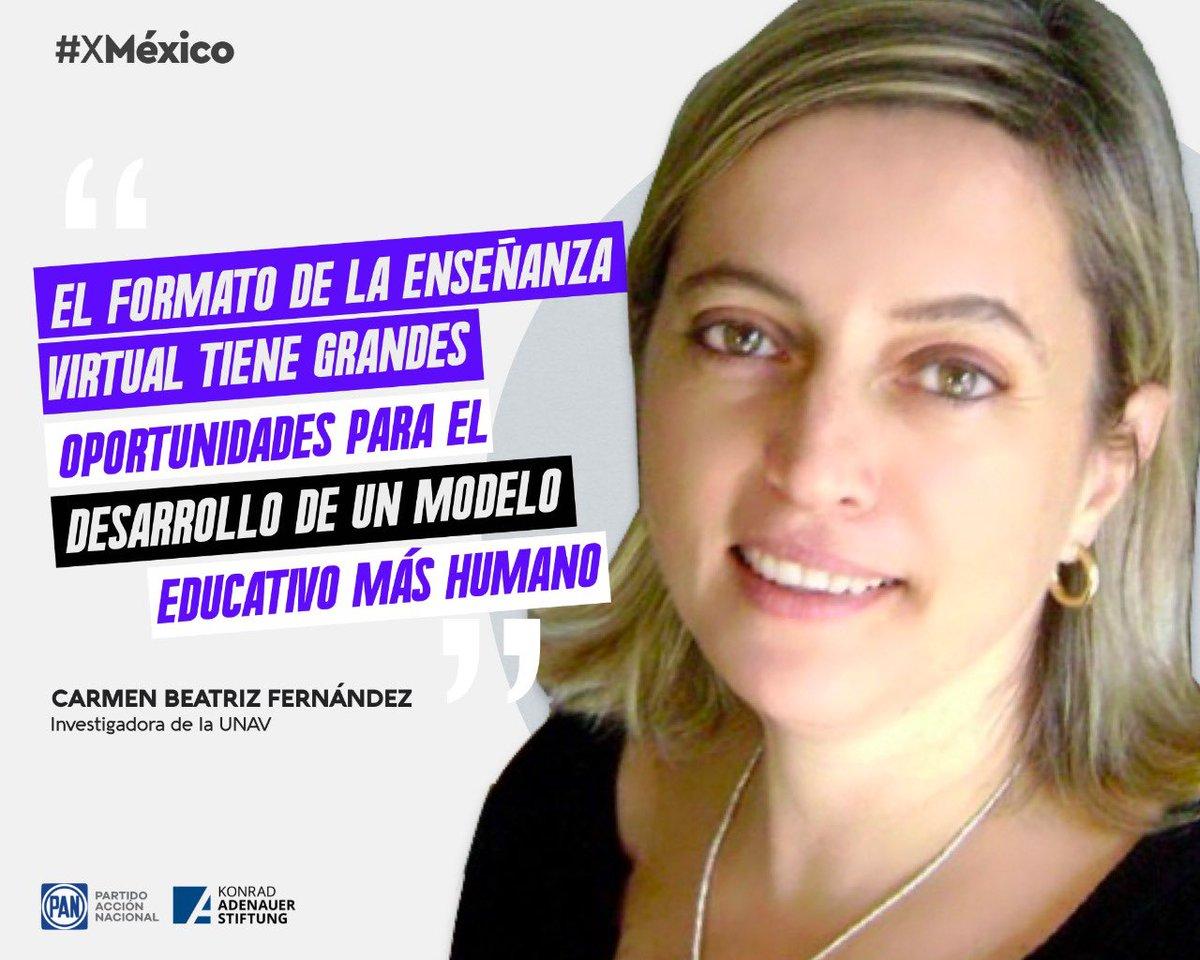"""""""Lo que hagamos y planifiquemos ahora, será lo que marque a las próximas generaciones en el mundo"""". @carmenbeat   Ideas y Acciones #XMéxico @kasmexiko https://t.co/cDyZwYMlXS"""