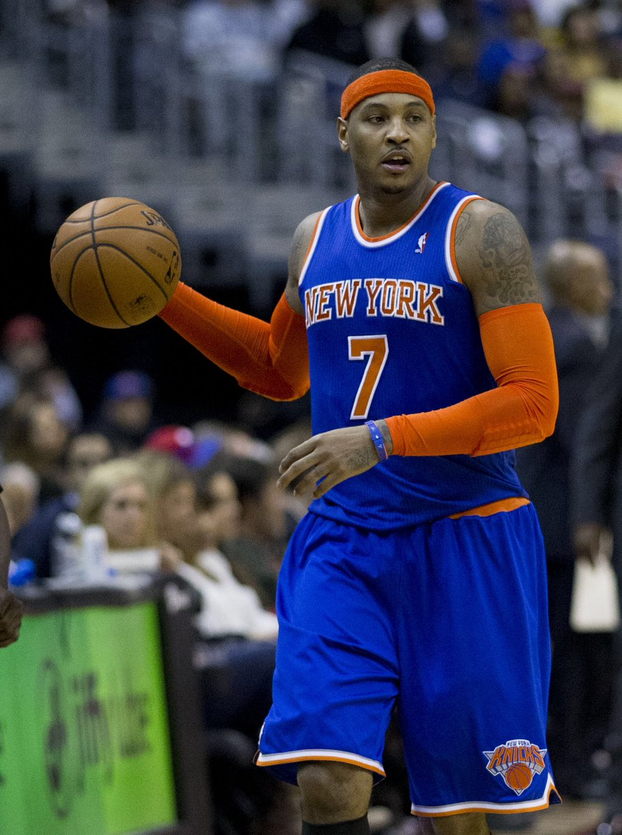 Hey @CITYOFCARMELIN , let's sue the pants off of this guy!  He is using your good name to promote his good game. @carmeloanthony https://t.co/6ThKmLY7m8