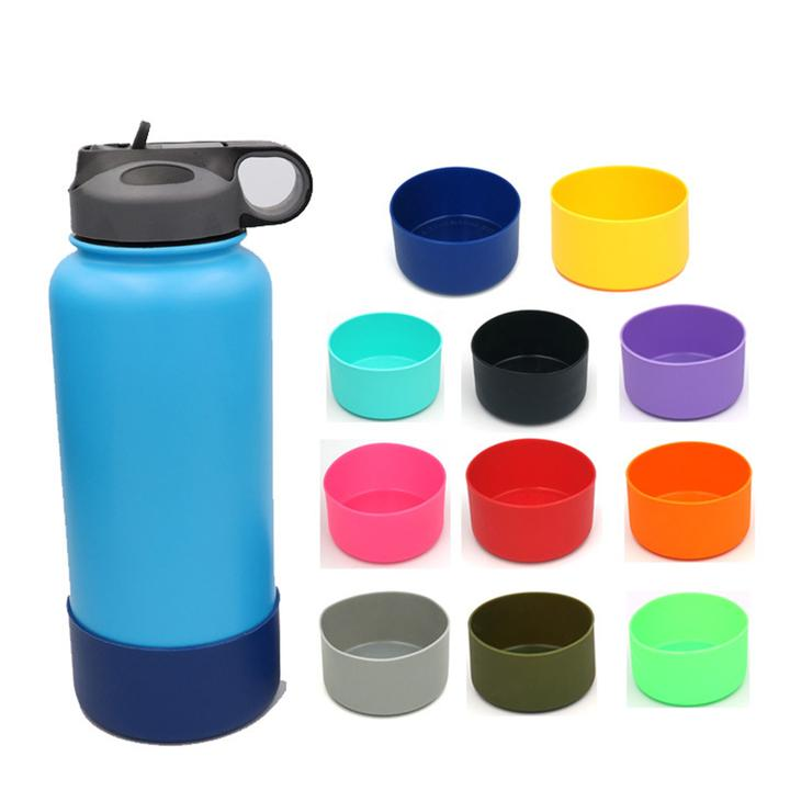 Keep your #bottle where you #leave it. Our #nonslip #boot fits over the bottom of your #water #flask and is made of #silicone. Visit our website to choose your color today!