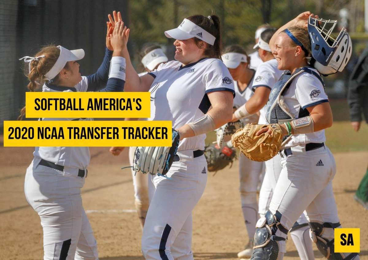Stay up to date with all the latest college softball transfer news‼️ ⬇️⬇️⬇️ buff.ly/2wK0GjJ