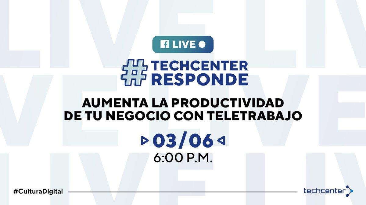 LIVE 🔴- #TechcenterResponde 💻 A medida que COVID-19 avanza, el trabajo a distancia se ha vuelto más frecuente e importante, por eso, #MicrosoftTeams ayuda a potenciarlo fomentando la #conexión,#colaboración y la #productividad.  Entra al live: 👉