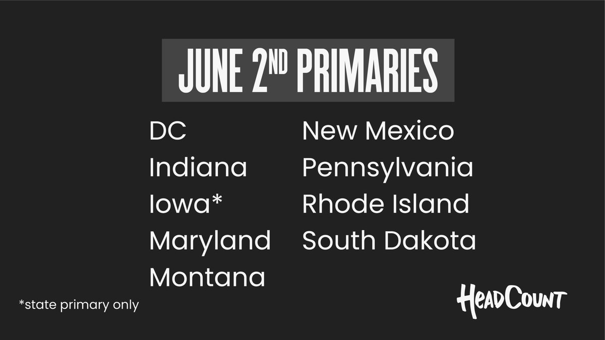 One of the most important things you can do right now is VOTE. 23 states have elections this month. Your vote has the power to create lasting change. Verify your voter registration, get vote-by-mail info, know your ballot: https://t.co/FDWFL0HnEc https://t.co/5kcmHUxVTP