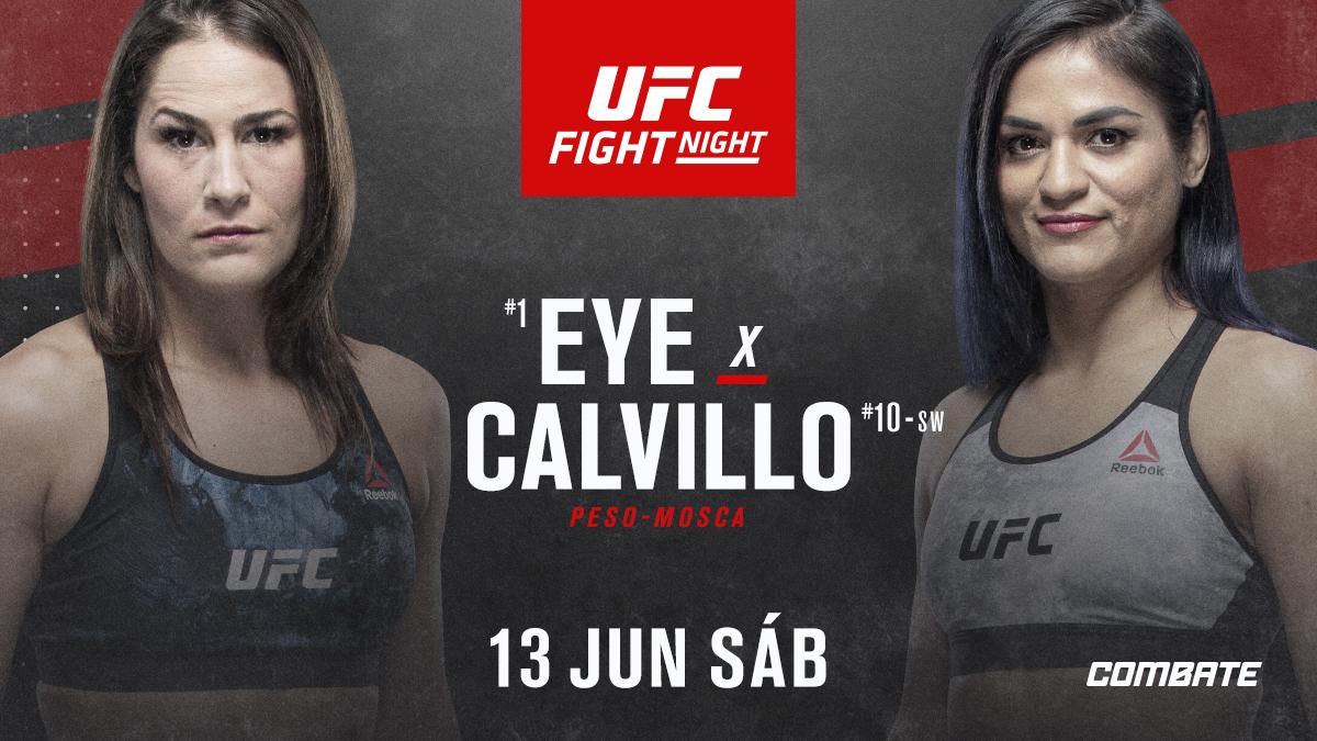 CONFIRMADO! @jessicaevileye e @cyn_calvillo fazem a luta principal do evento do dia 13 de junho. Os demais combates do card, assim como o local em que será realizado, serão anunciados em breve. https://t.co/Y9rdyMxiyK