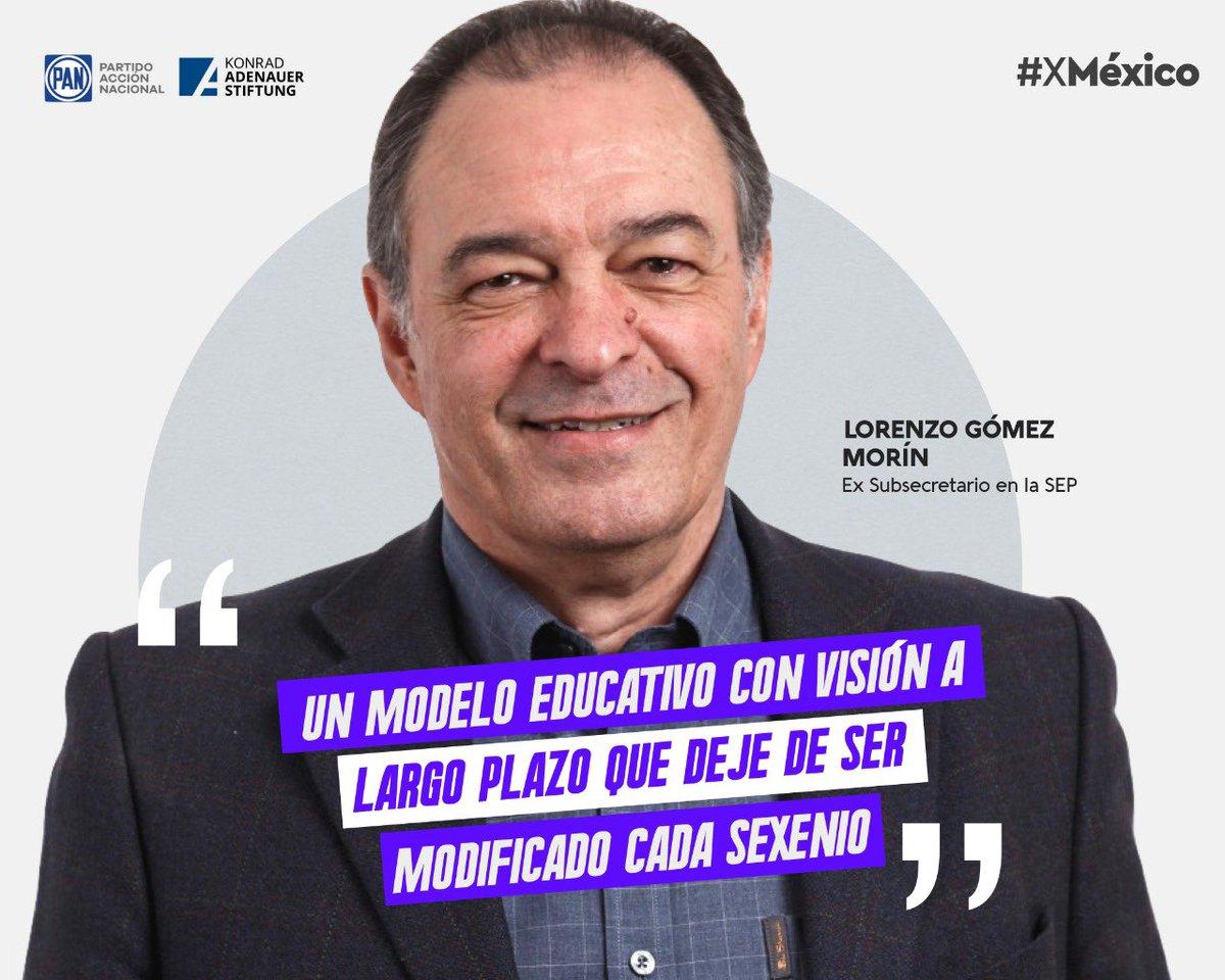 """""""Un sistema educativo se prueba a sí mismo en la crisis, no en la normalidad"""". @lorgomezm   Ideas y Acciones #XMéxico  @kasmexiko https://t.co/GsbdPg8rOX"""