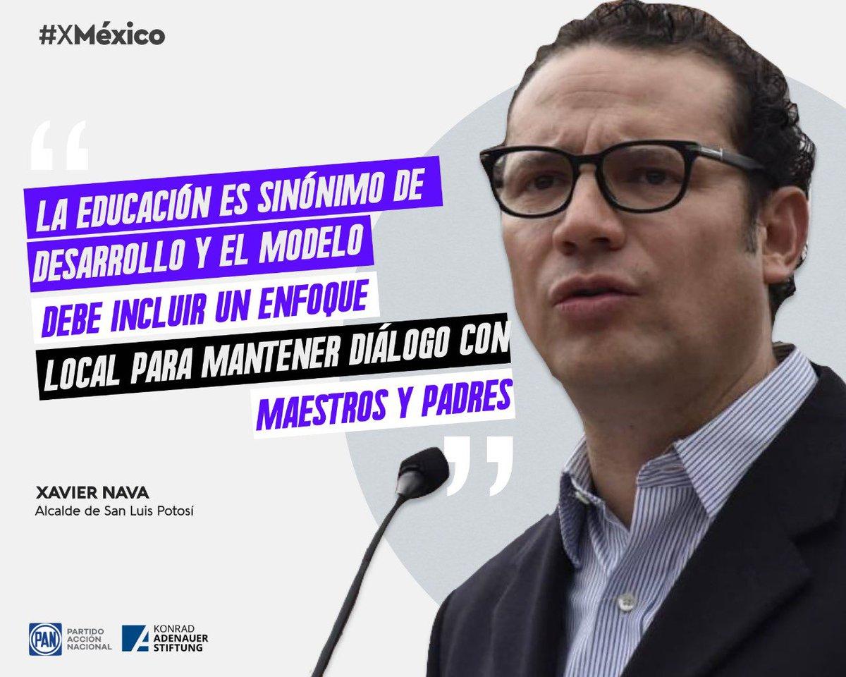 El alcalde @navaslp nos platica sobre los retos y desafíos, a nivel local, de la educación en San Luis Potosí.  Ideas y Acciones #XMéxico  @kasmexiko https://t.co/dkzKNy38IZ